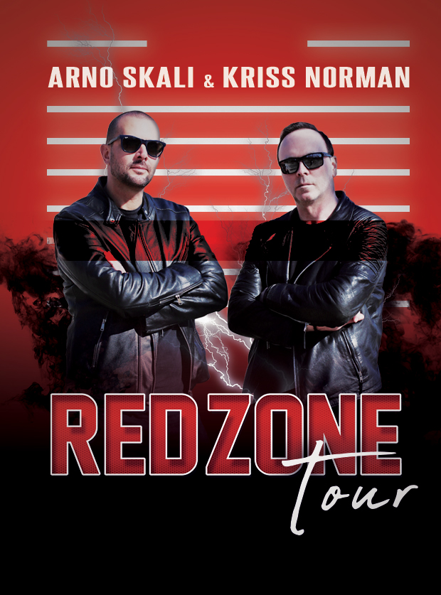 red zone tour poster
